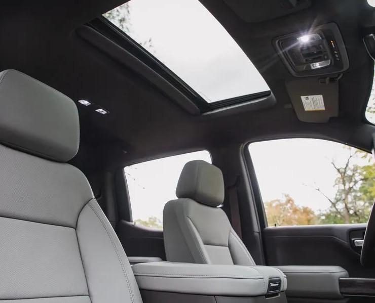 Chevrolet Silverado sunroof